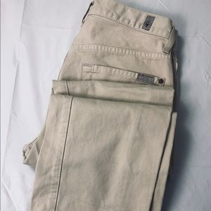 7 FOR ALL MANKIND W29 x L32 Carsen Beige Jeans